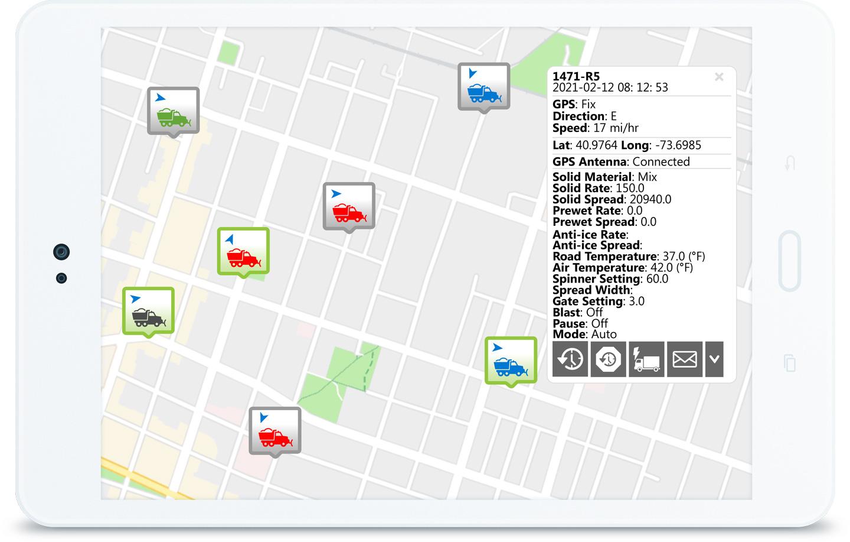 Geotab Public Works Solution Dashboard
